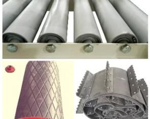 Узлы и комплектующие к ленточным конвейерам