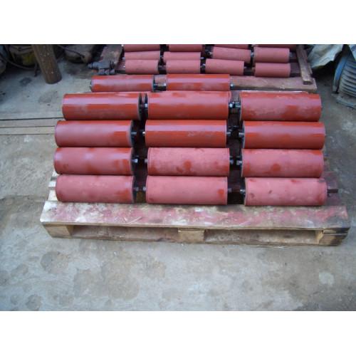 Ролик конвейерный транспортерный для ленточного конвейера