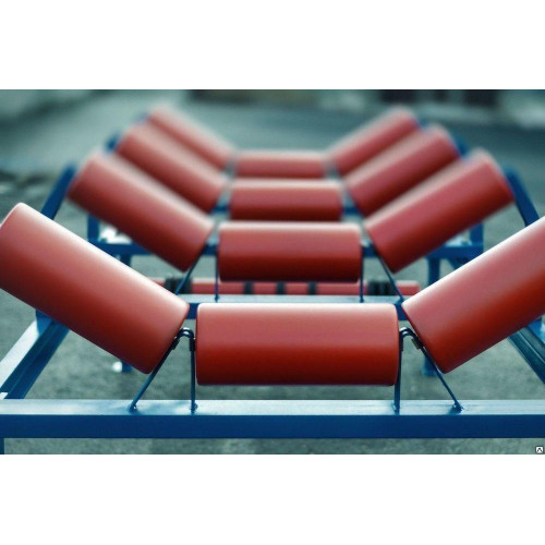 Ролики транспортерные 89х700 роликоопоры конвейерные любые