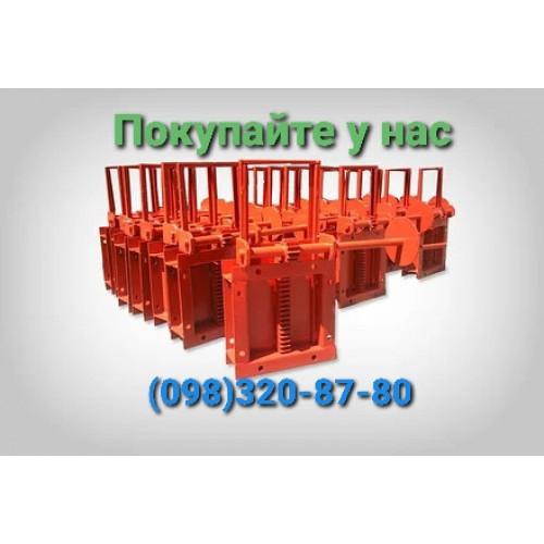 Задвижка реечная 450х450 механическая и с электроприводом пневмоприводом
