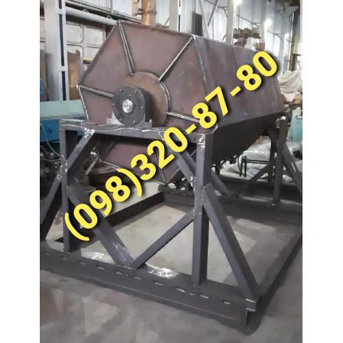 Галтовочный барабан машина для галтовки камня и деталей